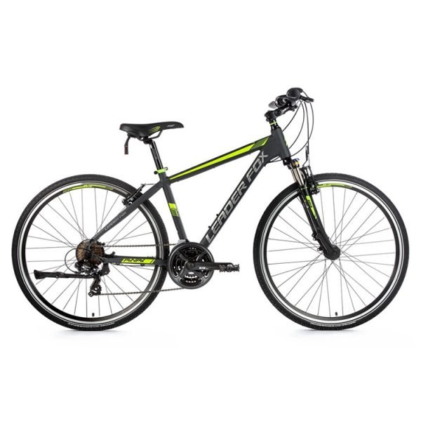 Leaderfox Away Hybrid Bike - Grey