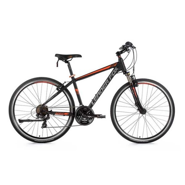 Leaderfox Away Hybrid Bike - Black