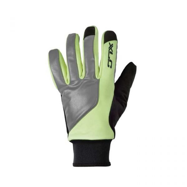 XLC Winter Cycling Gloves - Neon/Black