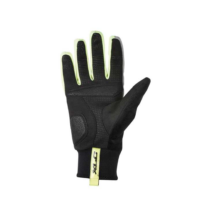 XLC Winter Cycling Gloves - Neon/Black