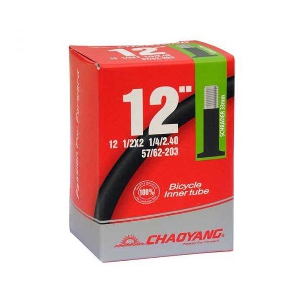 "12.5"" x 2.25"" Schrader Bike Tube"