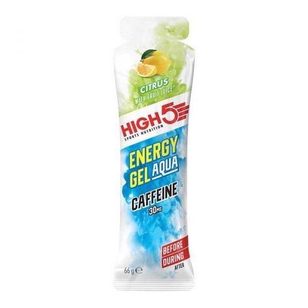 HIGH5 Energy Gel Aqua Caffeine - Citrus